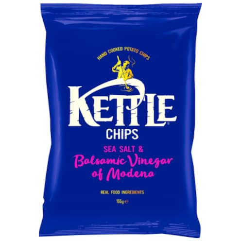 Kettle Chips Sea Salt & Balsamic Vinegar 150 g