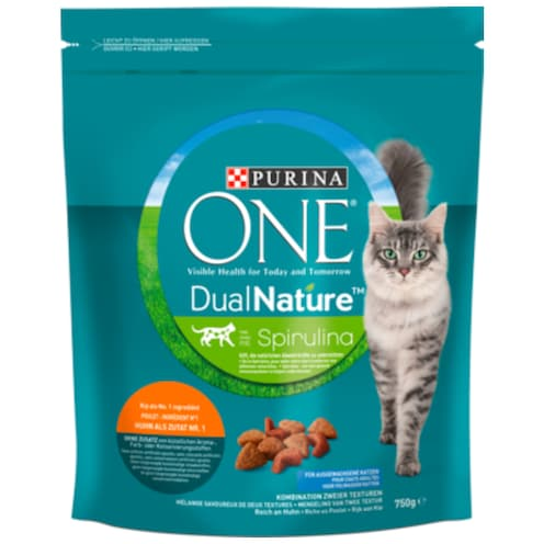 Purina ONE ONE DUAL NATURE Huhn 750 g