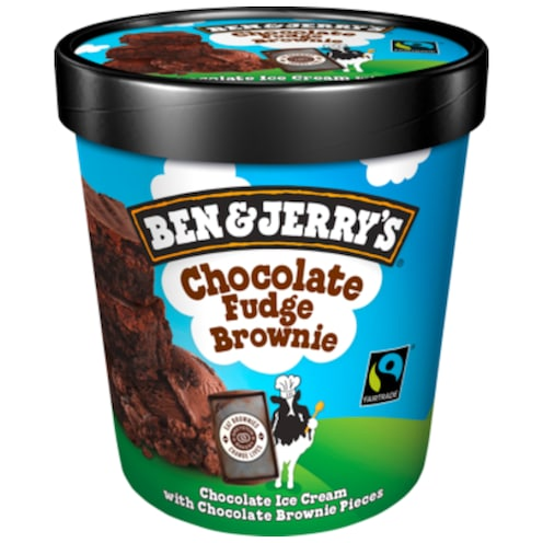 BEN & JERRY'S Chocolate Fudge Brownie 0,5 l