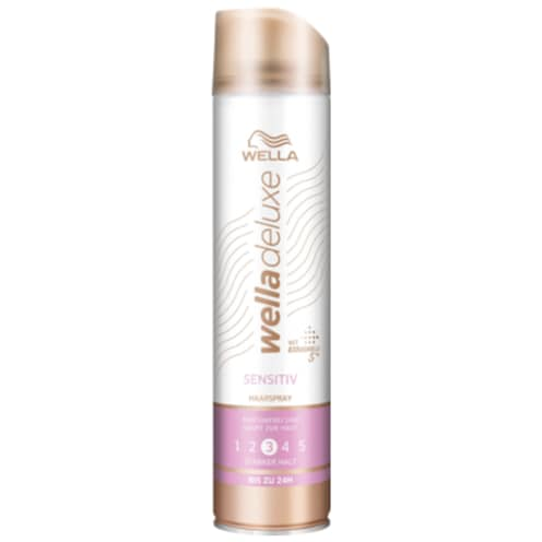 Wella Deluxe Haarspray Sensitive starker Halt 250 ml