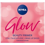 NIVEA Glow Beauty Primer 2 in 1 Tagespflege 50 ml