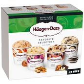Häagen-Dazs Favorite Selection 4 x 95 ml