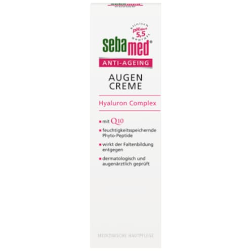 sebamed Anti-Ageing Augencreme Hyaluron Complex 15 ml