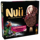 Nuii Dark Chocolate & Nordic Berry Multipack 3 x 90 ml