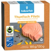 followfish Thunfischfilets in Bio-Sonnenblumenöl 130 g