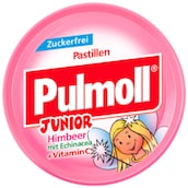 "Pulmoll Junior ""Hals-Fee"" Himbeer Zuckerfrei 50 g"