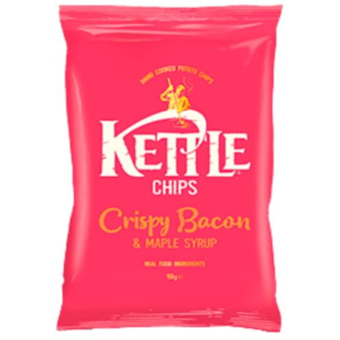 Kettle Chips Crispy Bacon & Maple Syrup 150 g