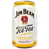Jim Beam Black Ice Tea Lemon 10 % vol. 0,33 l