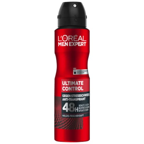 L'ORÉAL MEN EXPERT Ultimate Control Anti-Transpirant 48h Deospray 150 ml