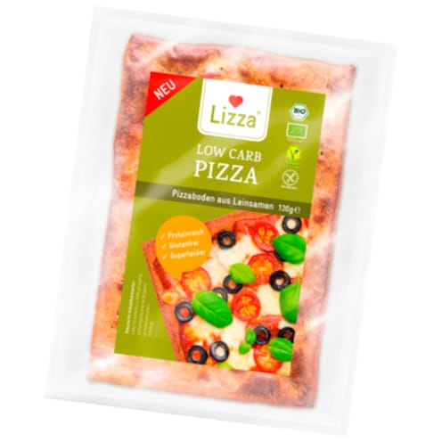 Lizza Low Carb Pizzaboden 130 g