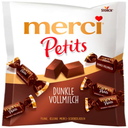 merci Petits Dunkle Vollmilch 125 g