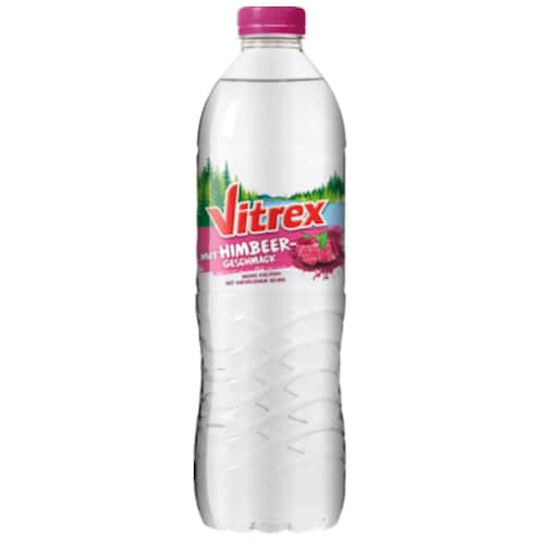 Vitrex Flavoured Water Himbeere 1,5 l
