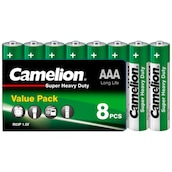 Camelion Batterie Super Heavy Duty Value Pack AAA 8 Stück