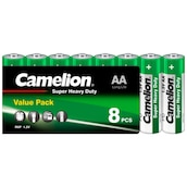 Camelion Batterie Super Heavy Duty Value Pack AA 8 Stück