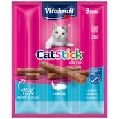 Vitakraft Cat Stick Lachs 3 x 6 g