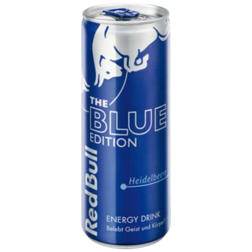 Red Bull Energy Drink Blue Edition 0,25 l