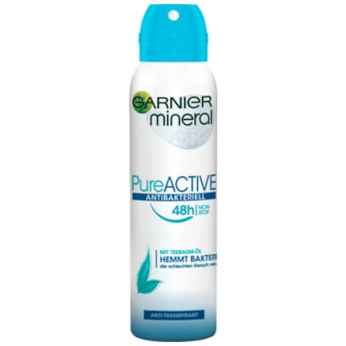 Garnier Mineral Deospray Pure Active Antibakteriel 150 ml