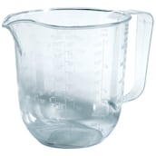 JES COLLECTION Messkanne 1 l transparent