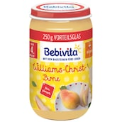 Bebivita Williams-Christ-Birne nach 4. Monat 250 g