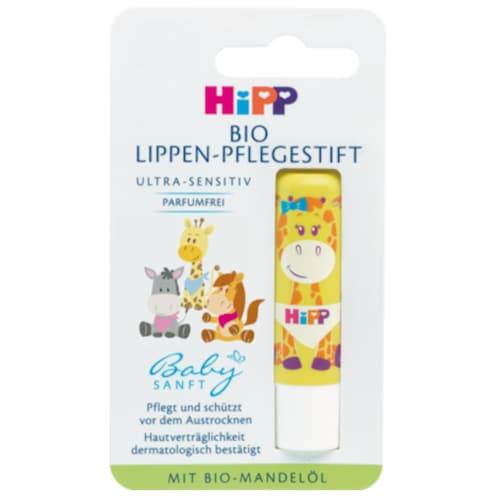 HiPP Babysanft Bio Lippen-Pflegestift Ultra-Sensitiv 4,8 g