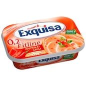 Exquisa Frischkäse Fitline Paprika-Chili 0,2 % Fett absolut 175 g