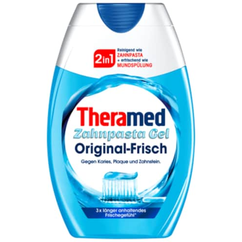 Theramed Zahncreme 2 in 1 Original-Frisch 75 ml