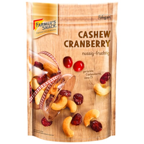Farmer's Snack Cashew-Cranberry-Mix 175 g