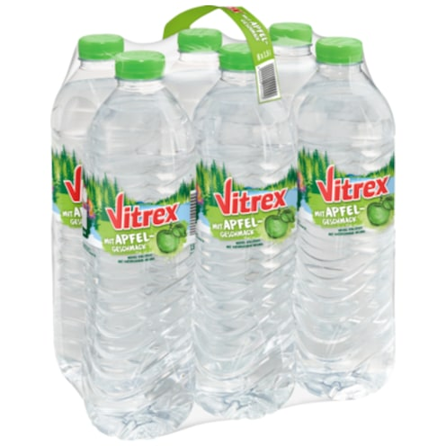 SW Vitrex Flavoured Water Apfel 6x1,5 l