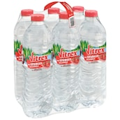 Flavored Water Erdbeere 6x1,5 l
