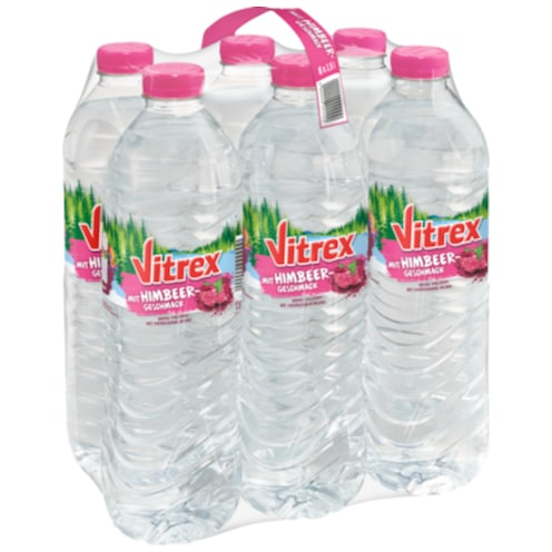 SW Vitrex Flavoured Water Himbeere - 6-Pack 6x1,5 l
