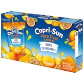 Capri-Sun Pure Fruit & Water Tropical - 5-Pack 5 x 0,2 l