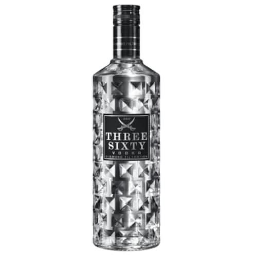 Three Sixty Vodka 50 % vol. 0,7 l