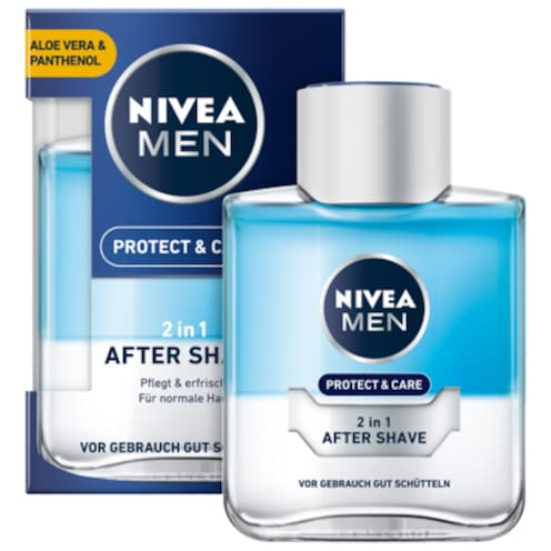 NIVEA MEN 2 in 1 After Shave Protect & Care 100 ml