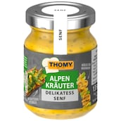 THOMY Alpenkräuter Delikatess Senf 135 ml