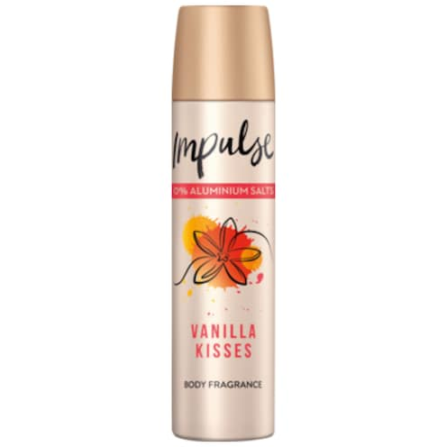 Impulse Bodyspray Vanilla Kisses 75ml