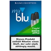 myblu Pod Green Apple 9 mg/ml 2 x 1,5 ml