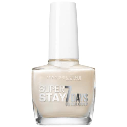 Maybelline New York Super Stay 7 Days Nagellack Nr. 77 Pearly White 10 ml