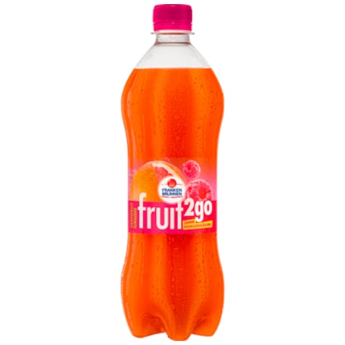 Franken Brunnen fruit2go Grapefruit Himbeere 0,75 l