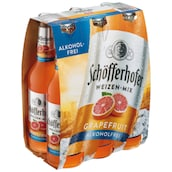 Schöfferhofer Grapefruit Alkoholfrei - 6-Pack 6 x 0,33 l