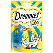 Dreamies Mix mit Lachs & Käse 60 g