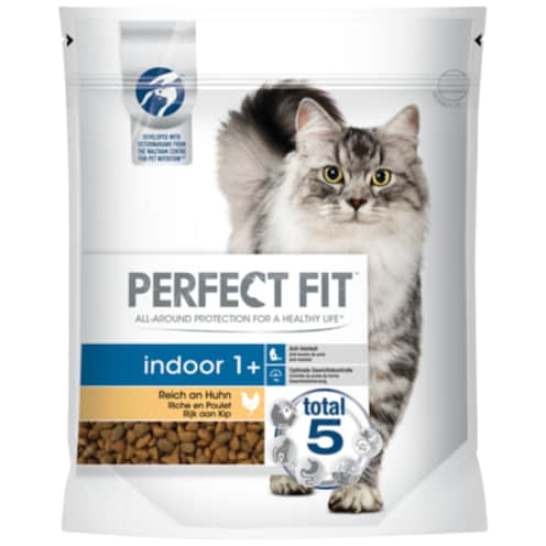 PERFECT FIT Indoor 1 + reich an Huhn 750 g
