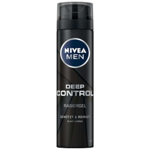 NIVEA MEN Rasiergel Deep Control 200 ml