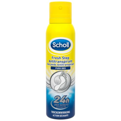 Scholl Fresh Step Antitranspirant 150 ml