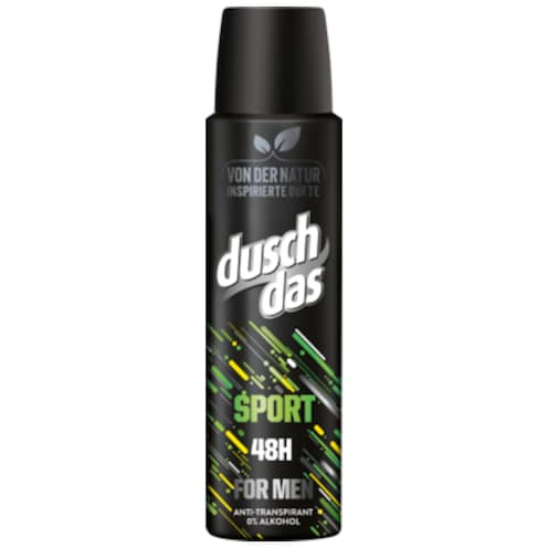 duschdas Sport for Men Deo Spray 150 ml