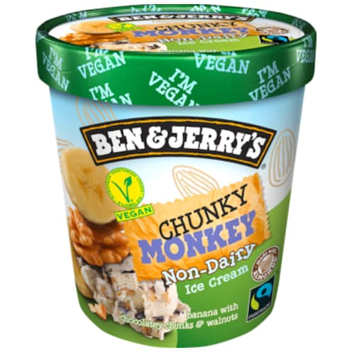 BEN & JERRY'S Chunky Monkey 500 ml