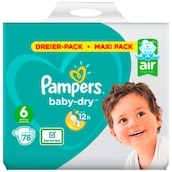 Pampers Baby Dry Extra Large Windeln Gr.6 13-18kg 3 x 26 Stück