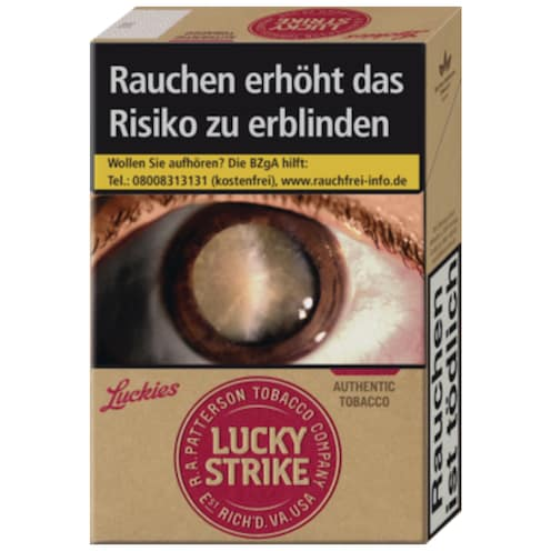 Lucky Strike Authentic Red XL Zigaretten
