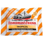 Fisherman's Friend Tropical ohne Zucker Pastillen 25 g