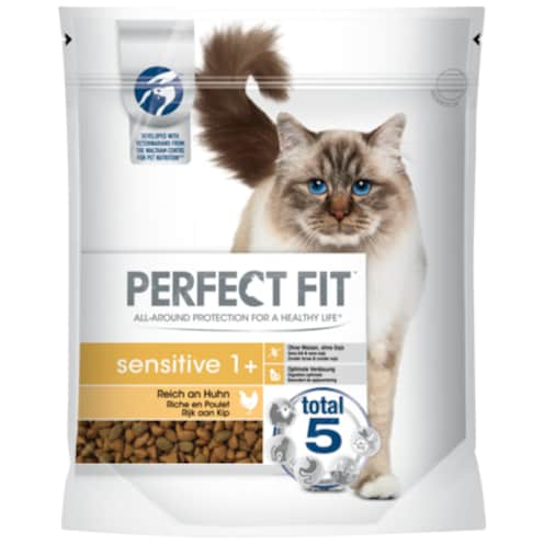 PERFECT FIT Sensitive 1+ Reich an Huhn 750 g