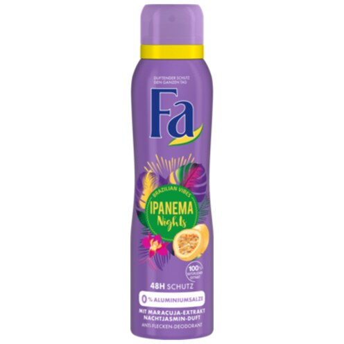Fa Deospray Ipanema Nights Brazilian Vibes 150 ml